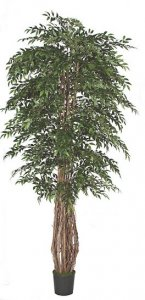 W-2535  9' Smilax Tree Natural Trunks