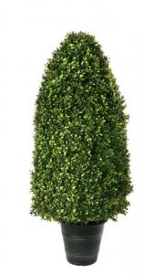 "EF-8313  40"" Outdoor Boxwood Dome Topiary Outdoor/Indoor"