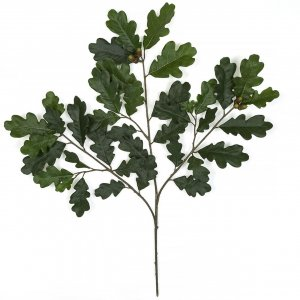26 Inch Firesafe Artificial Oak Spray With Acorns (Sold By Dozen)