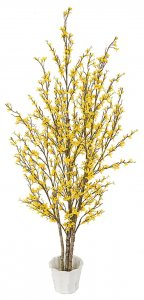 EF-4400 5' TO 7' Life Like Forsythia Tree 480 Yellow Flowers per Foot)