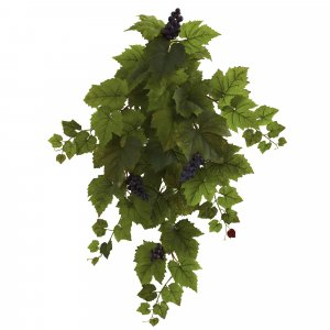 "31""  Grape Hanging Leaf Artificial Plant (Set of 2)"
