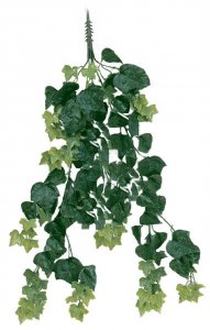 "36"" English Ivy Vine - Tutone Green - 117 Leaves - 16"" Width"