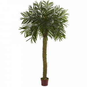 7' Outdoor Palm Artificial Tree UV Resistant (Indoor/Outdoor)