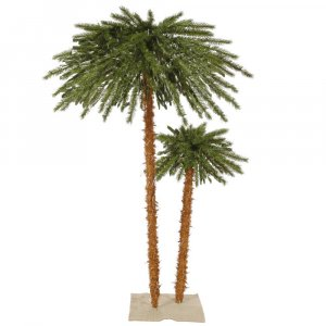 4' + 6' Outdoor Palm Tree DuraLit 400CL