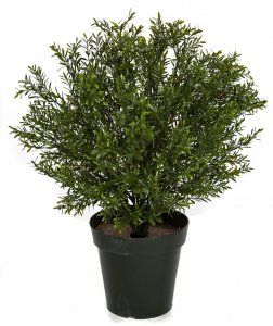 Outdoor UV Rosemary Podocarpus Shrub Topiary