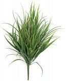 18 Inch Outdoor Grass Bush - Regular Or Fire Retardant