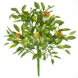 16 Inch Plastic Mini Lemon Bush