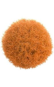 "10"" Plastic Glittered Ball Ornament"