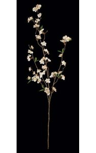 "45"" Cherry Blossom Branch - 76 Flowers - 21 Leaves"