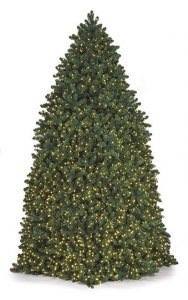 Pvc Breckenridge Pine Tower Trees | Indoor/Outdoor Commercial Trees | 12 Feet, 14 Feet, 16 Feet, Or 20 Feet
