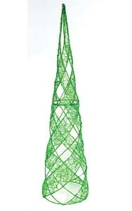 Acrylic Cone Tree Green