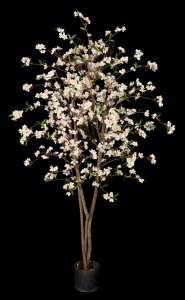 Cherry Blossom Tree - Natural Trunk - 912 Flowers
